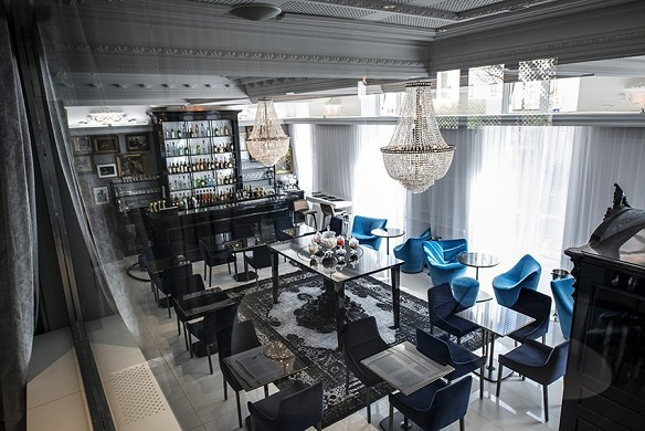 Vertigo Hotel - breakfast room