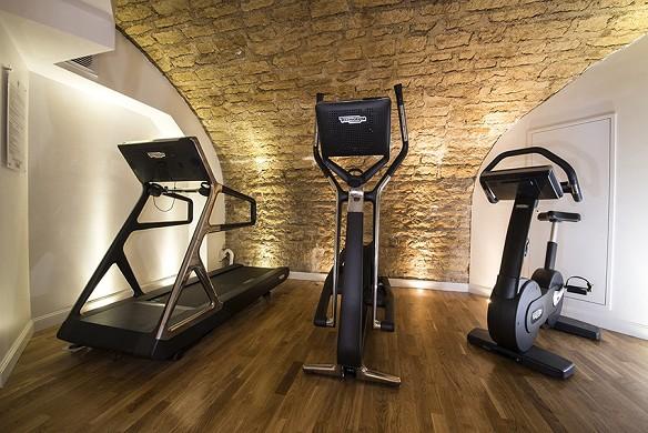 Vertigo Hotel - fitness room