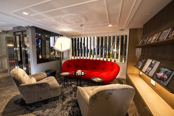 Vertigo Hotel - Lounge