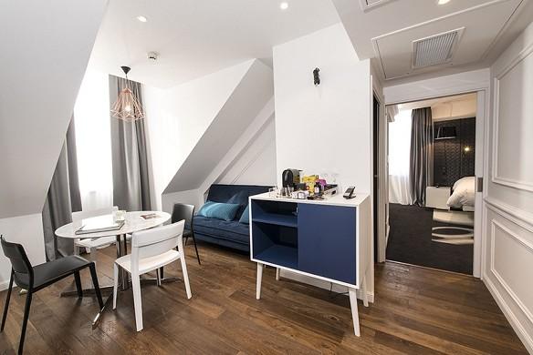 Vertigo Hotel - twin room