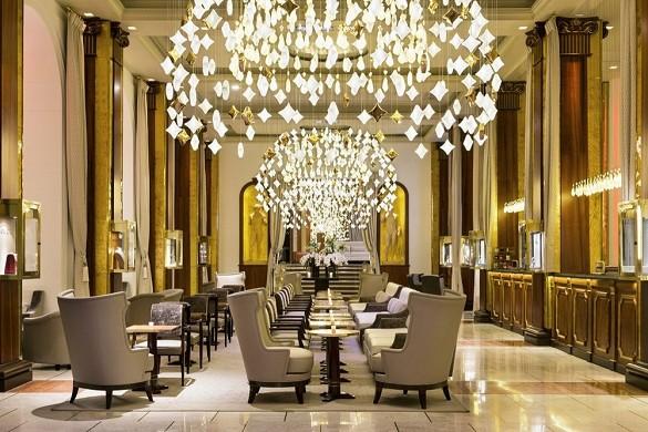Hotel barriera la maestosa cannes - hall