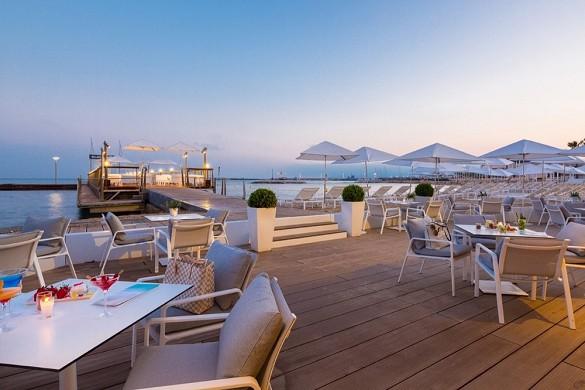 Hotel barriera maestosa cannes - terrazza