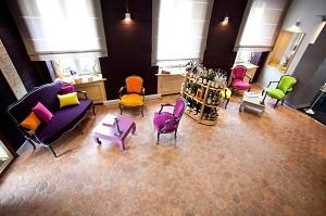 Restaurante Stéphane Derbord - En el interior del lugar