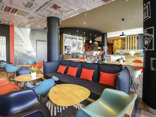 Ibis Dijon Center Clemenceau - Loungebereich