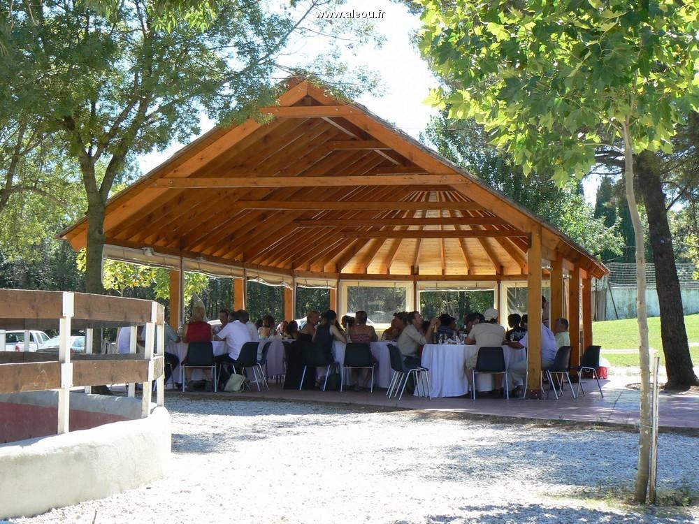 Domaine du Mas Brücke - der Hirt Zelt