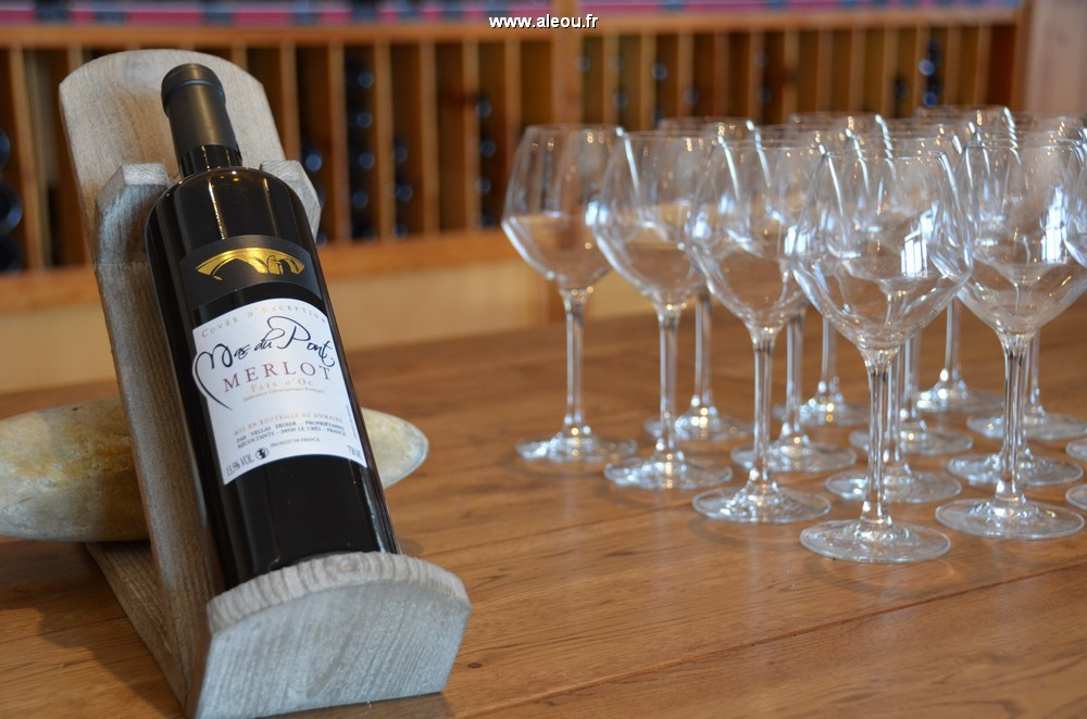 Domaine du Mas Brücke - Wein