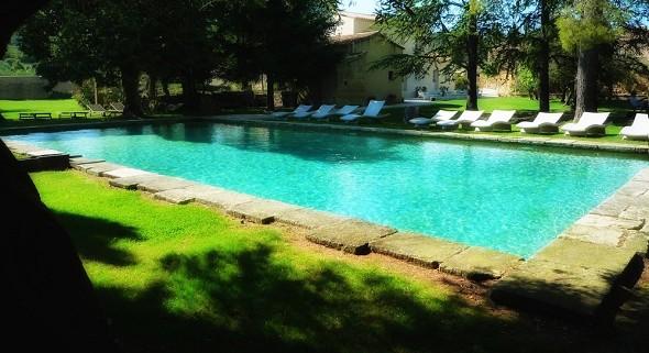 Domaine des escaunes - piscina