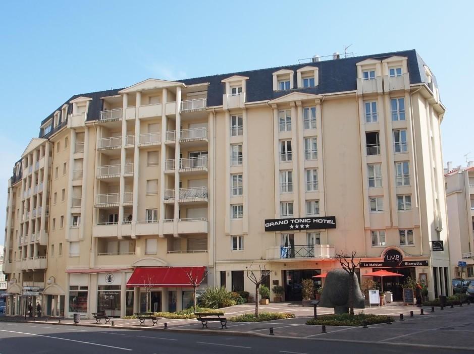 Hotel Biarritz Centre Ville Avec Parking