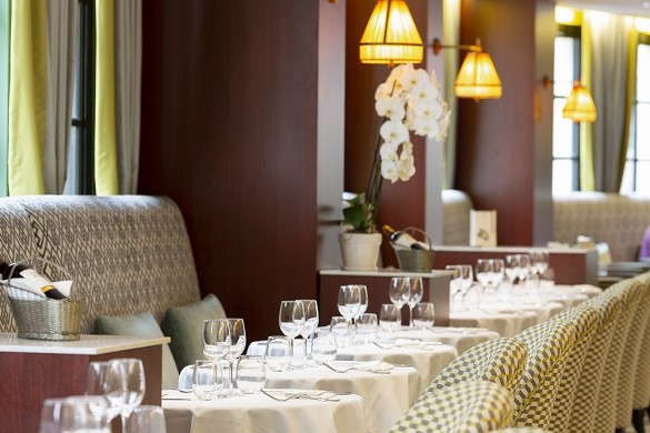 Grand Tonic Hotel Biarritz - Restaurante