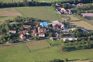 Veduta aerea del sito