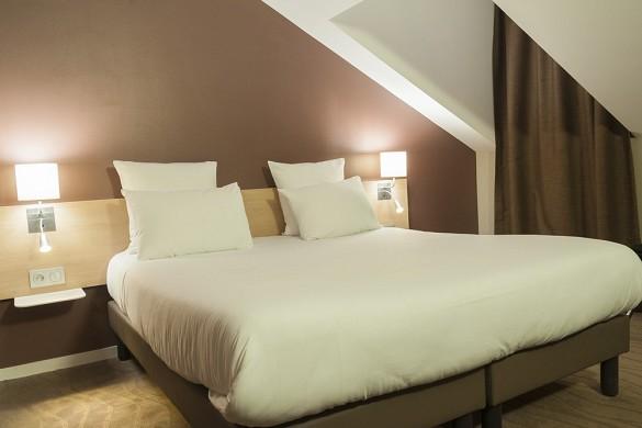 Brit hotel mâcon centre gare - habitación