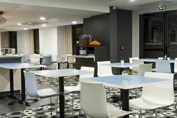 Brit hotel mâcon centre gare - sala de desayuno