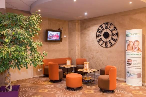 Brit Hotel Tours Sud - Entspannungsbereich