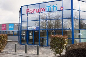 Forum Titi, the cooperative space - Exterior