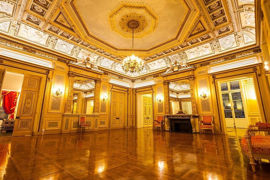 Vivienne Palace - lugar de París en el seminario
