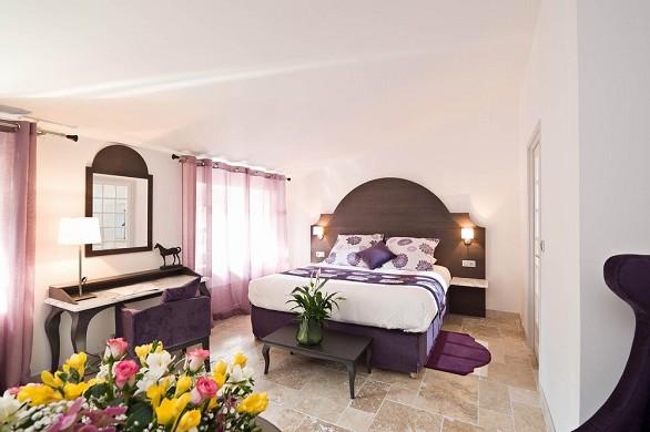 Moulin de vernegues - dormitorio