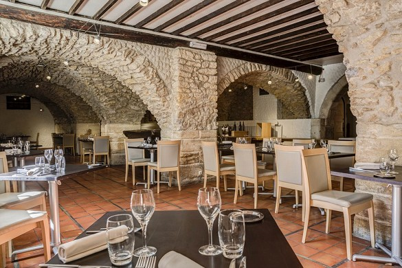 Moulin de vernegues - restaurante