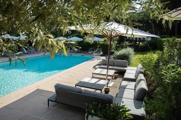 Golf hotel la grande-motte - junto a la piscina
