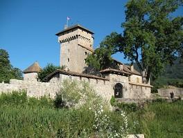 Castle of Avully - Outside the castle