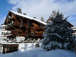 Chalet Hotel St. George - In winter