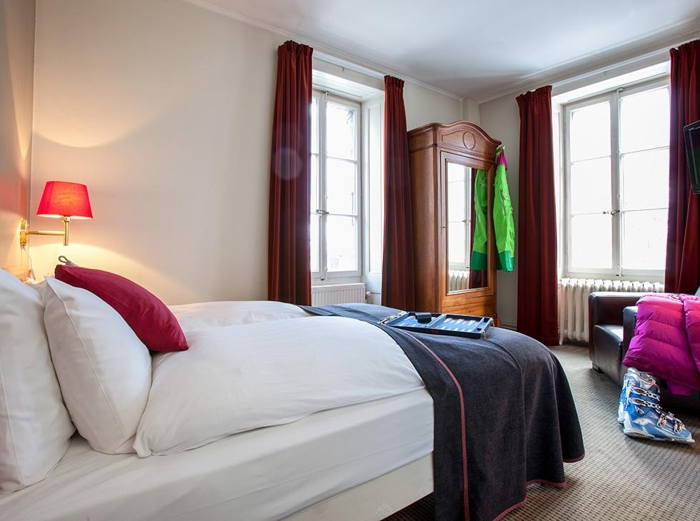 Langley h tel gustavia chamonix salle s minaire chamonix for Chambre neuf hotel chamonix