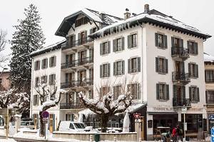 Langley Hotel Gustavia Chamonix - Hotel Front
