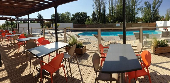 Adonis aix-en-provence - terrace and swimming pool
