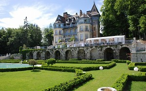 Domaine des Avenières - Jardín