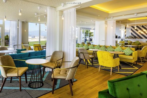 Sofitel golfo de ajaccio thalassa sea and spa - el restaurante del hotel