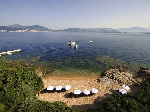 Sofitel golfo de ajaccio thalassa sea and spa - playa