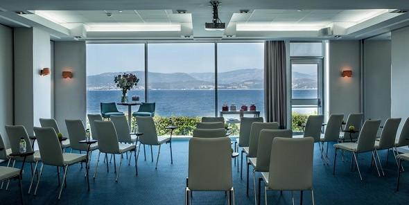 Sofitel golfo de ajaccio thalassa sea and spa - sala de reuniones