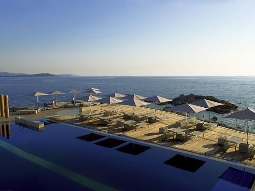 Sofitel gulf of ajaccio thalassa sea and spa - sea view terrace