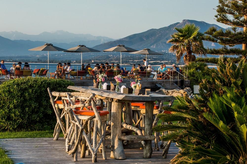 Sofitel Golf von Ajaccio Thalassa Meer und Spa - Hotelgärten