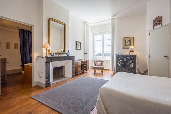 Chateau des Varennes - camera da letto