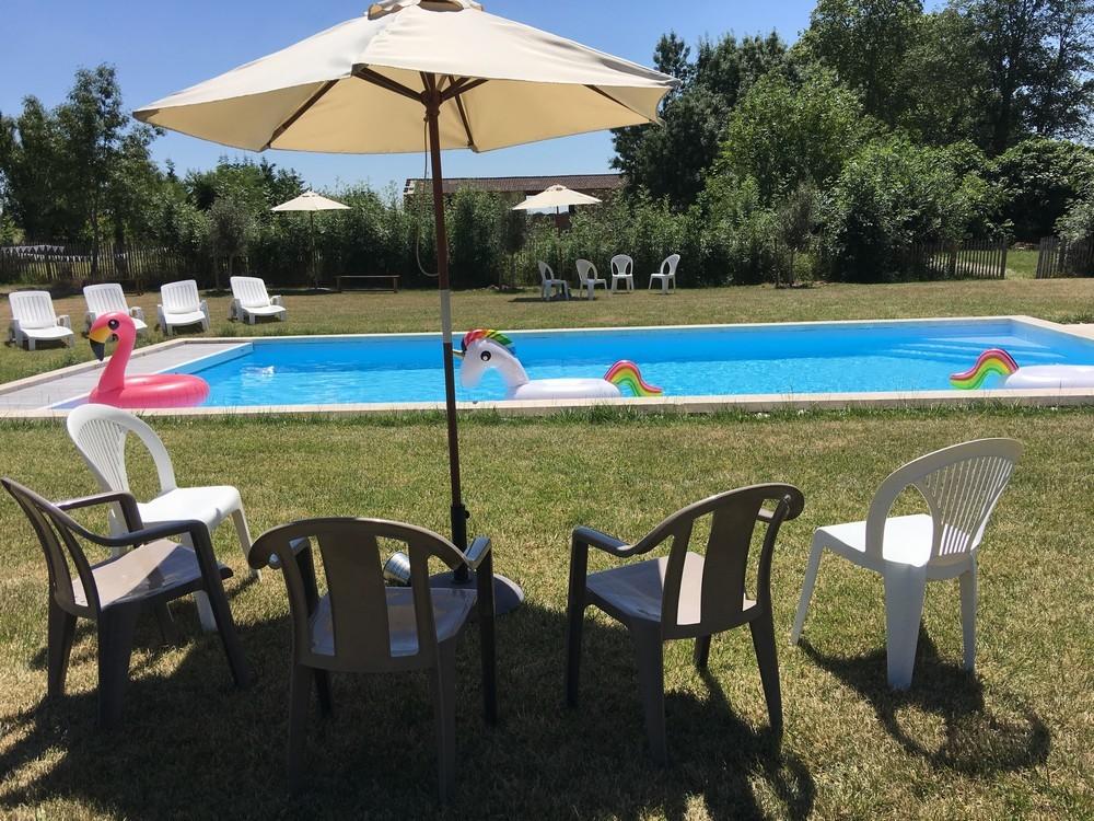 Domaine du t - swimming pool