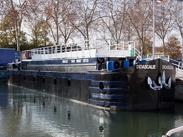 Péniche Didascalie - The boat