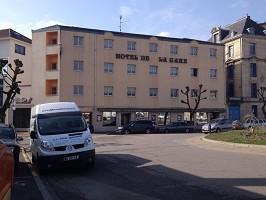 Hotel De La Gare - Hotel Front