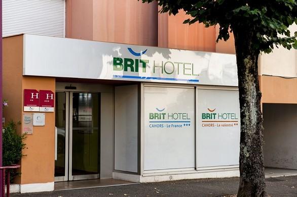 Brit hotel cahors le france - accueil