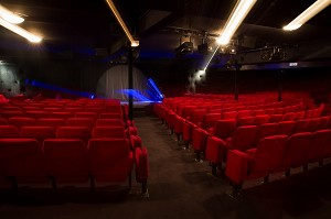Paris Republic Theater - Large hall with lighting