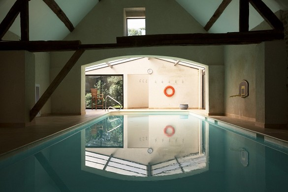 Châteauform 'the meadows of ecoublay - swimming pool