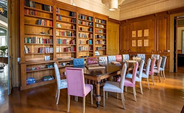 Châteauform 'les prés d'ecoublay - library lounge