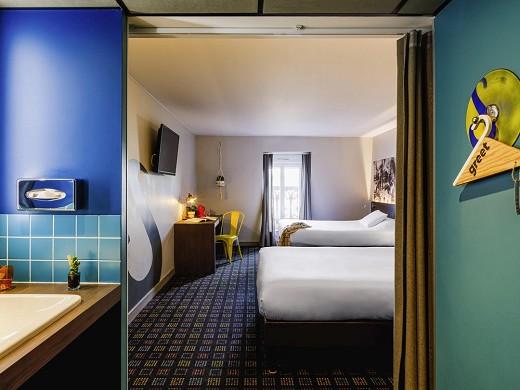 Greet hotel lyon confluence - room for residential seminars