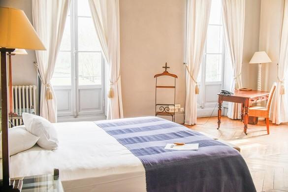 Castle of Crécy - camera da letto
