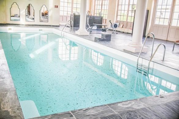 Castello di Crécy - piscina