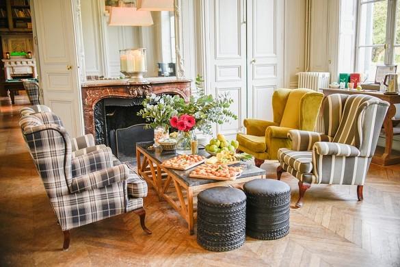 Castle Crécy - soggiorno