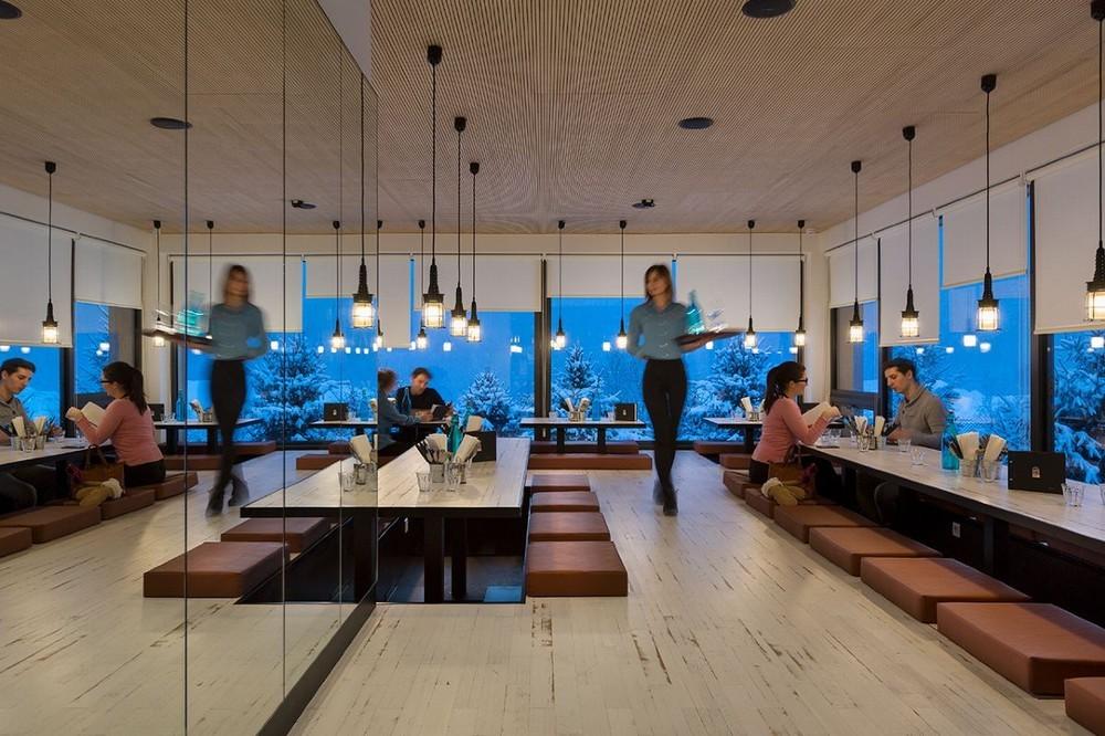 Rocky pop hotel - restaurant