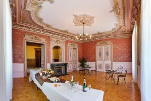 Chateau Domaine Laval all'interno