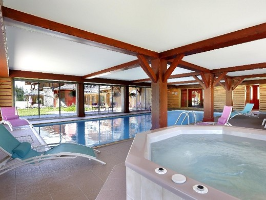 Chalet hotel vacca park - swimming pool