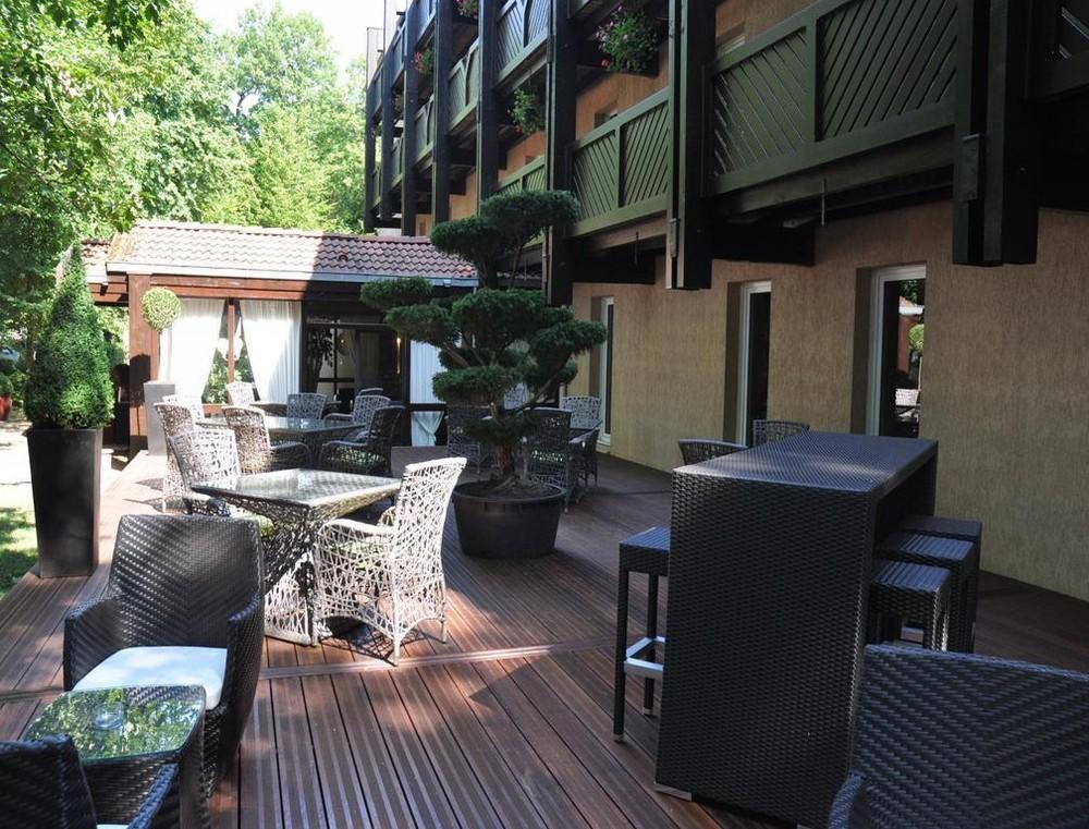 Hotel de Diane - Terraza