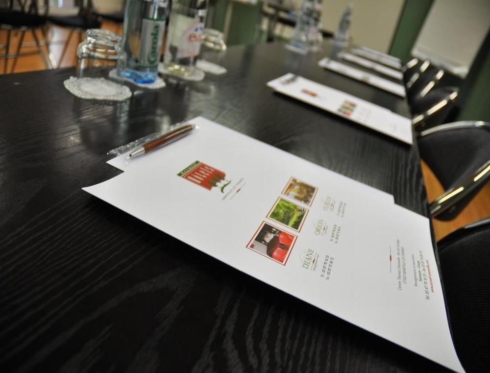 Hôtel diane - organización de jornadas de estudio.